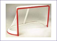 PROFESSIONAL ICE HOCKEY GOAL FRAMES AND NETTING